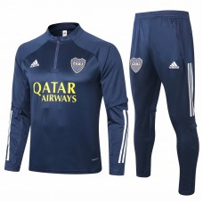 Adidas Boca Juniors Navy Training  Soccer Tracksuit 2020