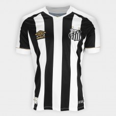 Shirt Santos II 2018 s / n ° Male Umbro Supporter - White and Black