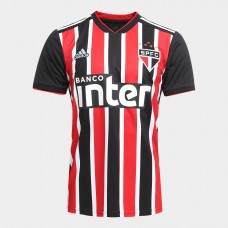 São Paulo II 2018 s / n ° Adidas Men's Supporter - Red and White