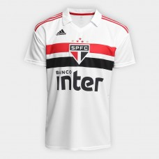 São Paulo I 2018 s / n ° Adidas Men's Supporter - White and Red