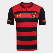 Sport Shirt Recife I 2018 s / n Player Under Armor Men's - Red and Black