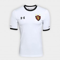 Sport Shirt Recife II 2018 s / n ° - Player Under Armor Men's - White and Black