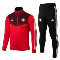 Feyenoord Soccer Training Presentation Tracksuit Red 2019-20