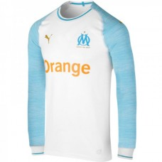 Olympique de Marseille Home Long Sleeve Jersey 2018-19