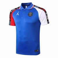 PSG Jordan Training Blue Polo Shirt 2020