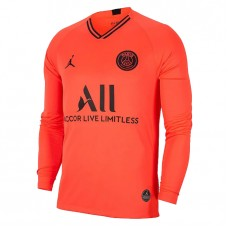 PSG Jordan Away Long Sleeve Jersey 2019-20