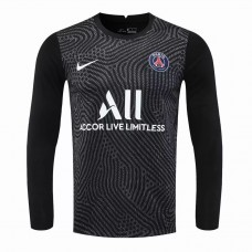 Paris Saint Germain Goalkeeper Long Sleeve Jersey Black 2020 2021
