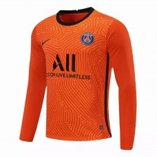Paris Saint Germain Goalkeeper Long Sleeve Jersey Orange 2020 2021