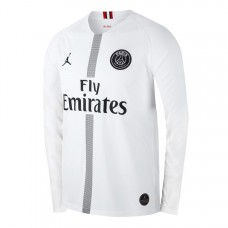 PSG JORDAN 18/19 THIRD SHIRT - LONG SLEEVE WHITE
