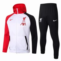 Liverpool FC Training Technical Soccer Tracksuit White 2020 2021
