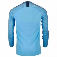 Manchester City Nike 2018-19 Home Long Sleeve Jersey