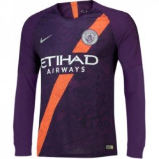 Manchester City Third Long Sleeve Jersey 2018-19