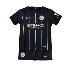 Manchester City Away Stadium Kit 2018-19 - Kids