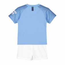 Manchester City Home Stadium Kit 2018-19 - Kids