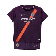 Manchester City Third Stadium Kit 2018-19 - Kids