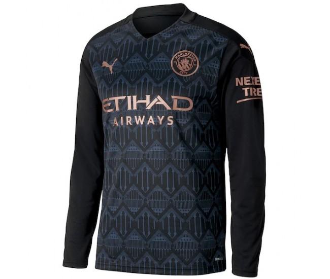 Manchester City Away Long Sleeve Jersey 2020 2021 | Best ...