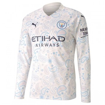 Manchester City Third Long Sleeve Jersey 2020 2021