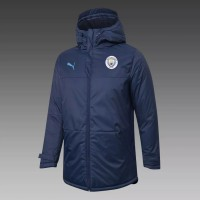Manchester City Training Winter Jacket Navy 2020 2021