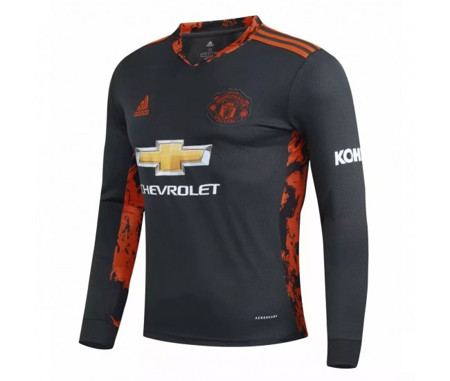 Manchester United Goalkeeper Long Sleeve Jersey 2020 2021