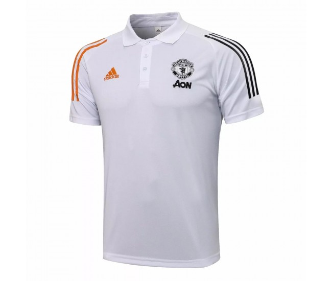 Manchester United 2020 Training Polo White