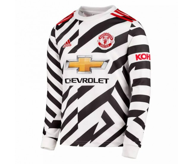 Manchester United Third Jersey Long Sleeve 2020 2021 ...