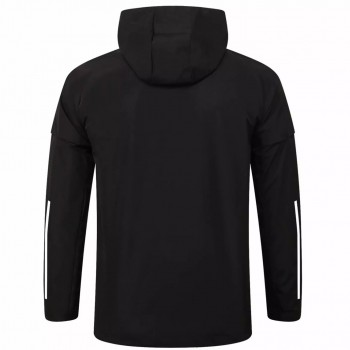 Manchester United Training All Weather Jacket Black 2020 2021