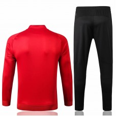 AC Milan Jacket Pants Training Suit Red 2019-20