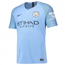 Manchester City Nike 2018-19 Home Vapor Match Jersey