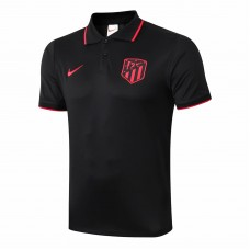 Atlético de Madrid Polo Shirt Black 2019 2020