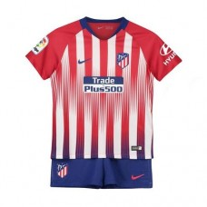 Atlético de Madrid Home Stadium Kit 2018-19 Kids