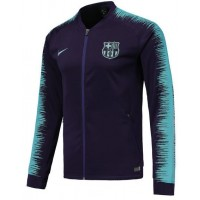 FC Barcelona 2018/19 Anthem Full-Zip Jacket – Dark Blue