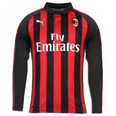 AC MILAN HOME LONG SLEEVE JERSEY 2018/19