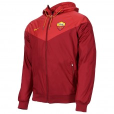 AS ROMA RED WINDRUNNER JACKET 2018/19
