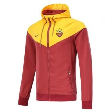 AS ROMA YELLOW WINDRUNNER JACKET 2018/19