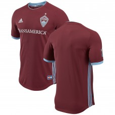 Men's Colorado Rapids adidas Burgundy 2018 Primary Authentic Jersey