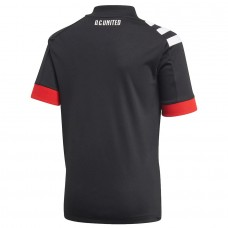 Men's D.C. United adidas Black 2020 Primary Jersey