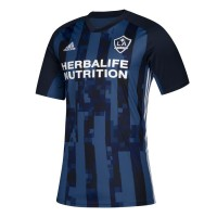 Men's LA Galaxy adidas Navy 2019 Secondary Replica Custom Jersey