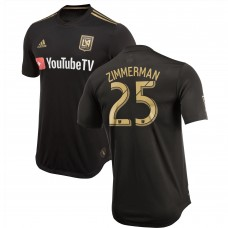 Men's LAFC Walker Zimmerman adidas Black 2018 Primary Authentic Player Jersey