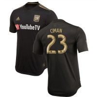 Men's LAFC Laurent Ciman adidas Black 2018 Primary Authentic Player Jersey