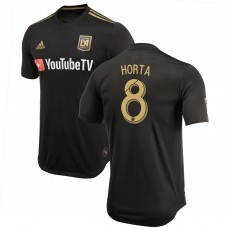 Men's LAFC André Horta adidas Black 2018 Primary Authentic Player Jersey