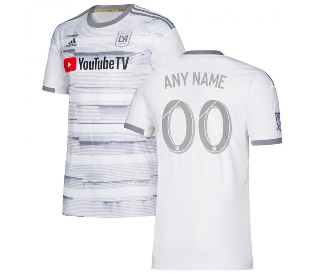 Men's LAFC adidas White 2019 Street By Street Custom Jersey