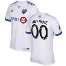 Montreal Impact adidas 2018 Secondary Authentic Custom Jersey - White