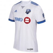 Montreal Impact adidas 2018 Secondary Authentic Team Jersey - White