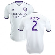 Men's Orlando City SC Jonathan Spector adidas White 2018 Origin Kit Authentic Player Jersey