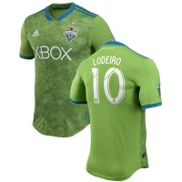 Men's Seattle Sounders FC Nicolas Lodeiro adidas Green 2018 Primary Authentic Player Jersey