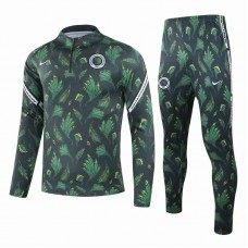 Nigeria Training Technical Soccer Tracksuit Deep Green 2020 2021