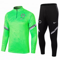 Nigeria Training Technical Soccer Tracksuit Green 2020 2021