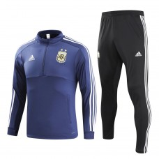 Argentina Blue/Black Training  Soccer Tracksuit 2018/19 - Kids