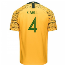 Australia National Team Nike 2018 Home Jersey (Cahill 4)