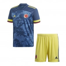 Colombia Away Kit 2020 2021-Kids
